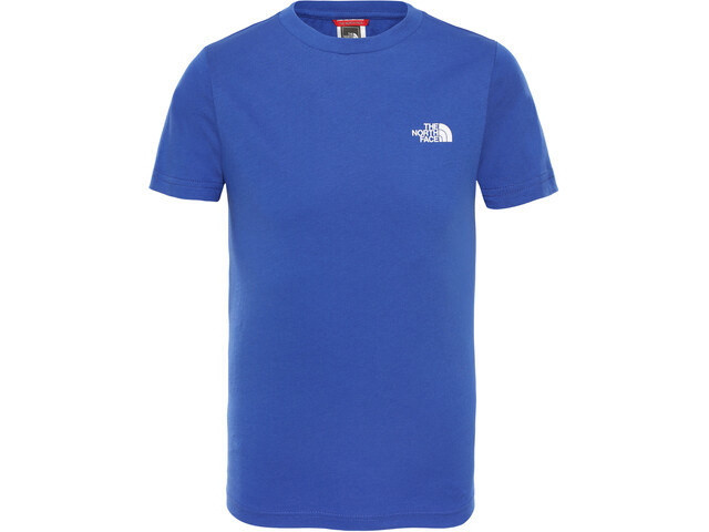 The North Face Simple Dome T-shirt Garçon, tnf blue